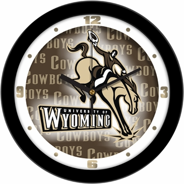 Wyoming Dimension Wall Clock