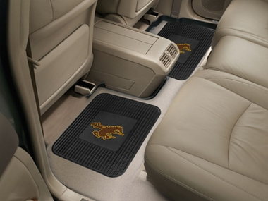 Wyoming SET OF 2 Heavy Duty Vinyl Rear Car Mats