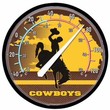 Wyoming Round Wall Thermometer