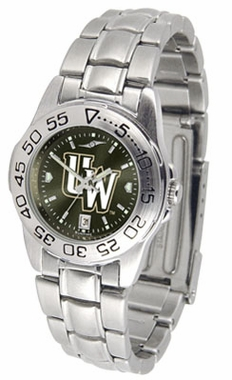 Wyoming Sport Anonized Women's Steel Band Watch