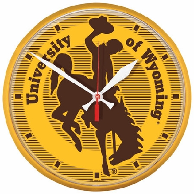 Wyoming Wall Clock