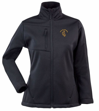 Wyoming Womens Traverse Jacket (Team Color: Black)