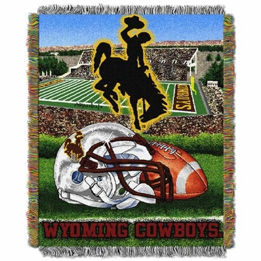 Wyoming Woven Tapestry Blanket