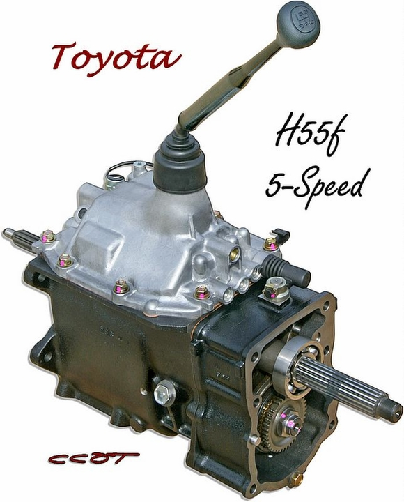 5 Speed - Transmission - H55F