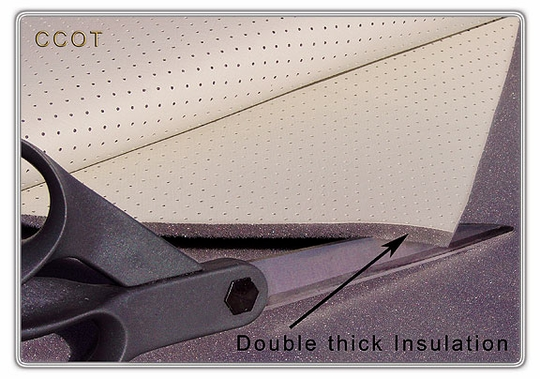 Headliner Double Thick Padding