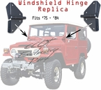 Hinge - Windshield