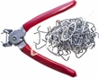 Hog Ring Pliers with Rings Kit