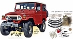"Lift Kit - FJ40x HFS Extreme - 1961-7/80 - 4"" Lift Kit"