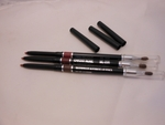 Waterproof Automatic Lip Pencils with Brush
