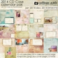 2014 CD Case Calendar - Seasons