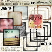 2014 CD Case Calendar - TTV