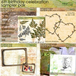 6th Birthday Sampler Pak