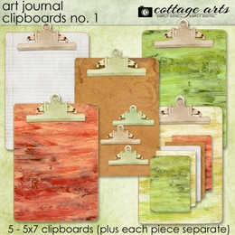 Art Journal Clipboards 1