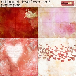 Art Journal - Love Fresco 2 Paper Pak