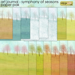 Art Journal - Symphony of Seasons Paper Pak