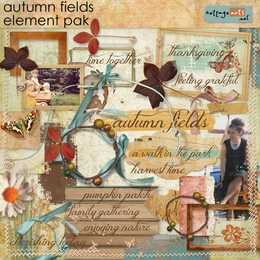 Autumn Fields Element Pak