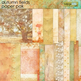 Autumn Fields Paper Pak