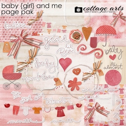 Baby Girl and Me Page Pak