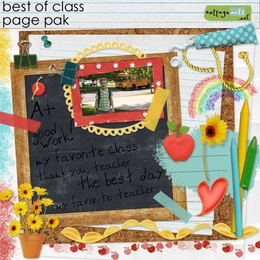 Best of Class Page Pak