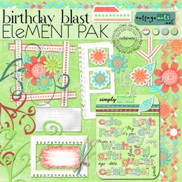 Birthday Blast Element Pak