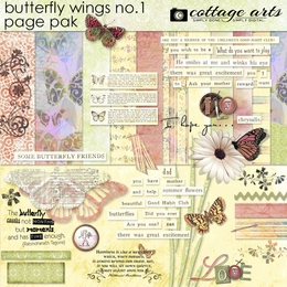 Butterfly Wings Page Pak