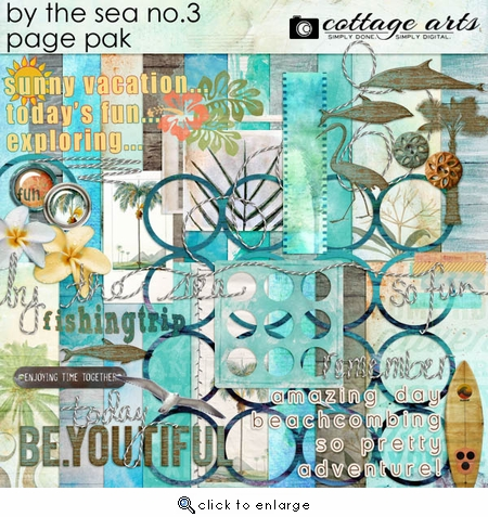 By the Sea 3 Page Pak