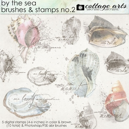 By the Sea Brushes & Stamps 2