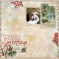 Cardinal Christmas Holiday Tags