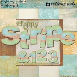 Chippy Stripe AlphaSet