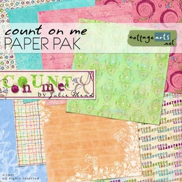 Count on Me Paper Pak