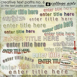 Creative Text Paths 6