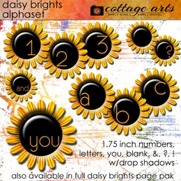 Daisy Brights AlphaSet