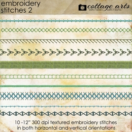 Embroidery Stitches Pak 2