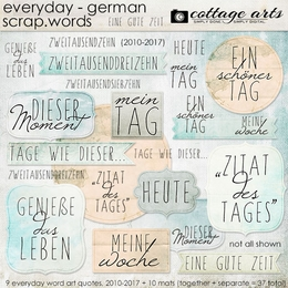 Everyday German Scrap.Words