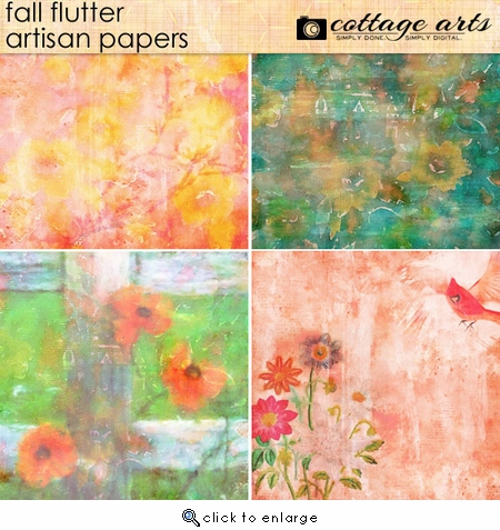 Fall Flutter Artisan Papers