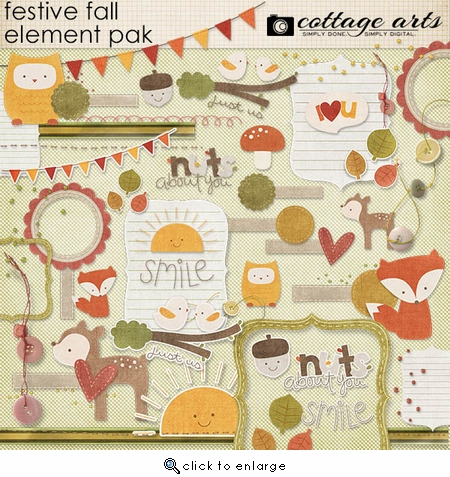 Festive Fall Element Pak