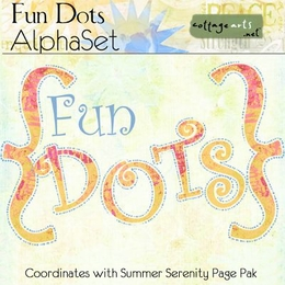 Fun Dots AlphaSet