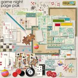Game Night Page Pak