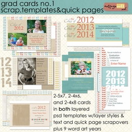 Grad Cards 1 - Templates & QPs