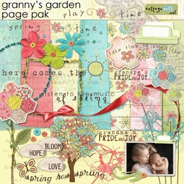 Granny's Garden Page Pak