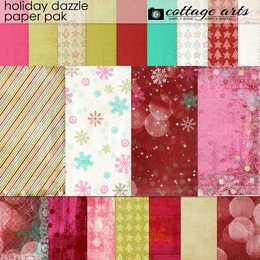 Holiday Dazzle Paper Pak