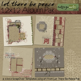 Let There Be Peace 12x12 Album Pak