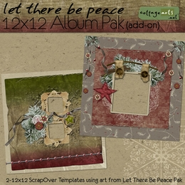 Let There Be Peace 12x12 Album Pak Add-On