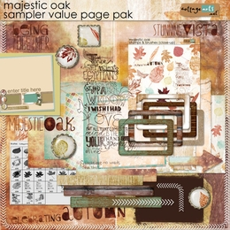 Majestic Oak Value Page Pak
