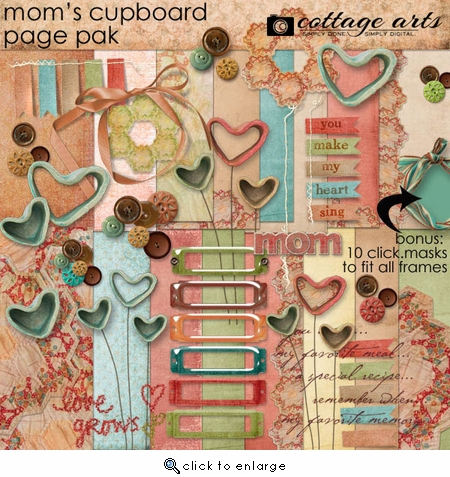 Mom's Cupboard Page Pak