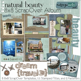 Natural Beauty 8x8 Album Pak