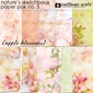 Nature's Sketchbook 5 Paper Pak - Apple Blossoms