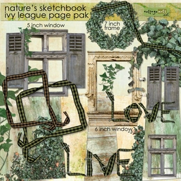 Nature's Sketchbook - Ivy League Page Pak