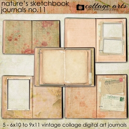 Nature's Sketchbook - Journals 11
