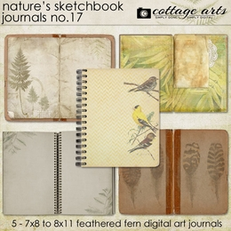 Nature's Sketchbook Journals 17